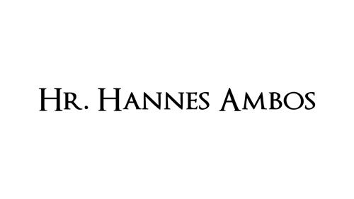 Hr. Hannes Ambos
